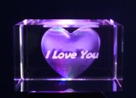 Heart & I Love You star-crystal-laser-blocks